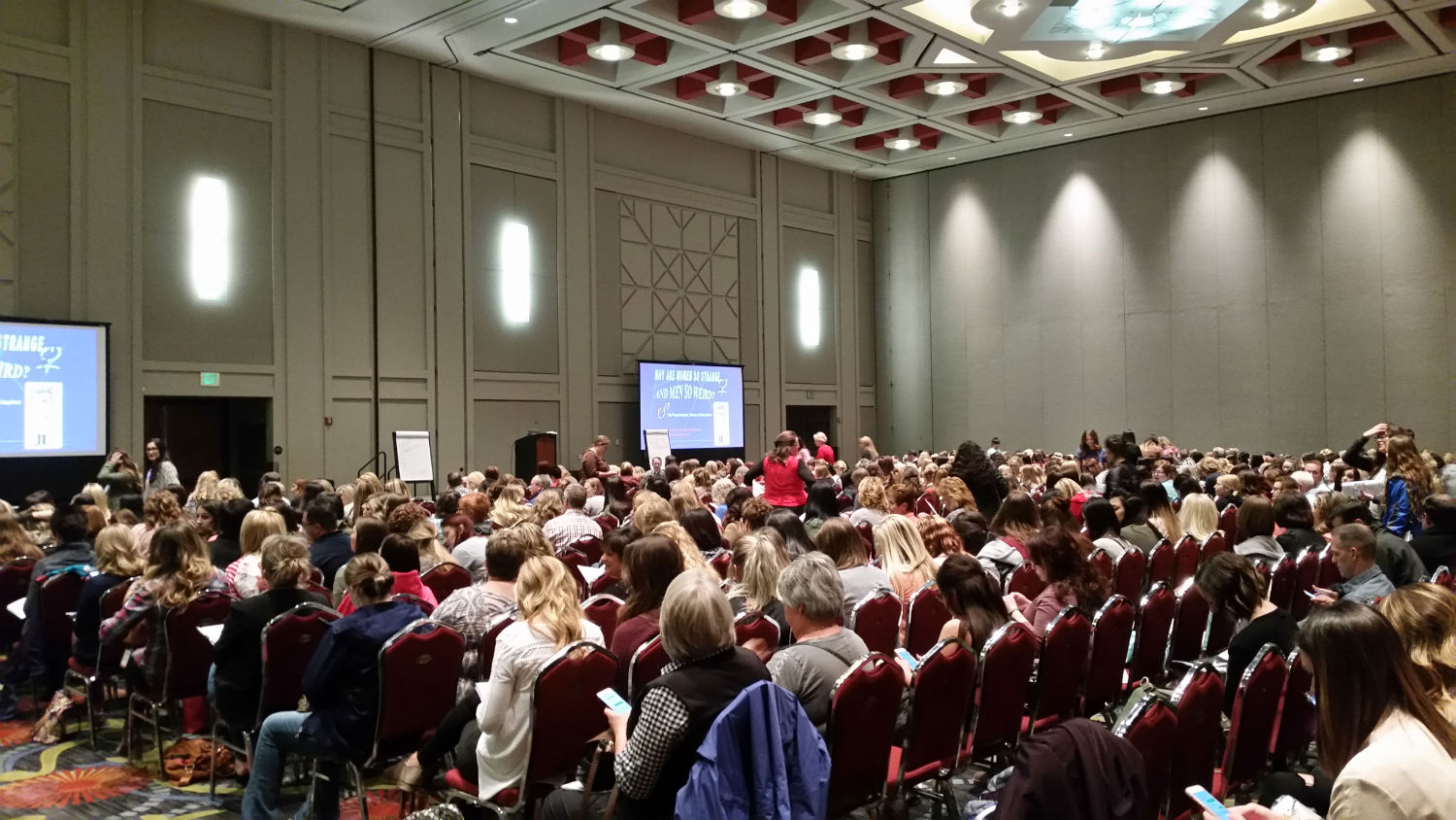 audience at bruce christopher keynote presentation at conference