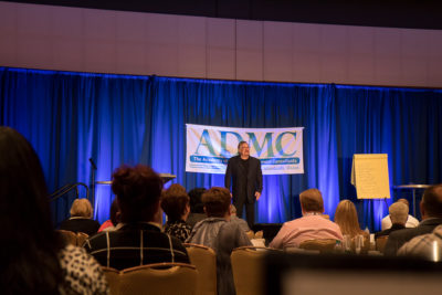 Bruce Speaking at the ADMC event